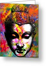 Mind Greeting Card by Ramneek Narang