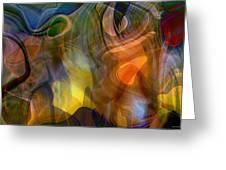 Mixed Emotions Greeting Card by Linda Sannuti