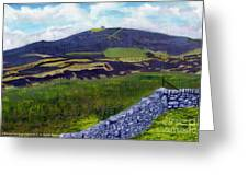 Moel Famau Greeting Card by Edward McNaught-Davis