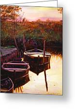 Moment At Sunrise Greeting Card by David Lloyd Glover