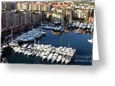 Monaco Greeting Card by Tom Prendergast