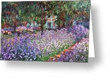 Monet: Giverny, 1900 Greeting Card by Granger