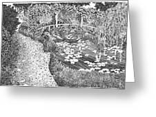 Monet's Paradise Greeting Card by Thomas  Ferguson