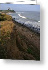 Montauk Surf And Turf Greeting Card by Christopher Kirby