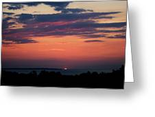 Montauk Twilight Greeting Card by Christopher Kirby