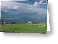 Moody-buttes Greeting Card by Jim Benest