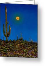 Moonlight Serenade Greeting Card by Johnathan Harris