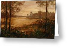 Moorlands At Dusk Greeting Card by Bill Mather