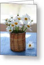 Morning Daisies Greeting Card by Elena Elisseeva