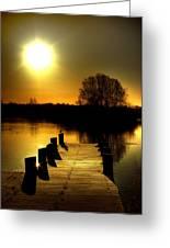 Morning Glory Greeting Card by Kim Shatwell-Irishphotographer