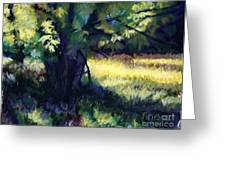 Morning Light Greeting Card by Deb LaFogg-Docherty