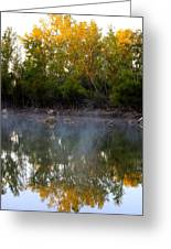 Morning Reflections Greeting Card by Jennifer  Lane
