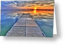 Morning Sky Greeting Card by Scott Mahon