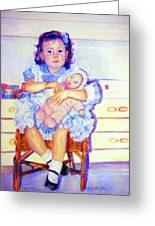 Mother Instinct Greeting Card by Estela Robles