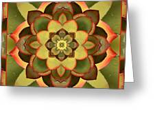 Mother Lotus Greeting Card by Bell And Todd