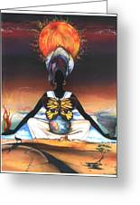 Mother Nature II Greeting Card by Anthony Burks Sr