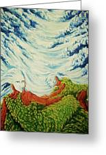 Mother Nature Greeting Card by Pralhad Gurung