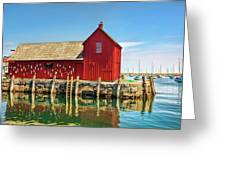Motif One Greeting Card by Marcia Colelli