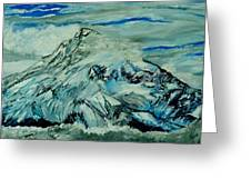 Mount Hood  Greeting Card by Gregory A Page