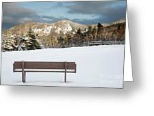 Mount Huntington - White Mountains New Hampshire  Greeting Card by Erin Paul Donovan