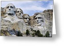 Mount Rushmore National Monument Greeting Card by Jon Berghoff