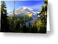 Mountain Sunset Greeting Card by Marty Koch