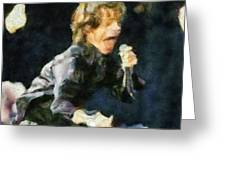 Move Like Jagger Greeting Card by Russ Harris