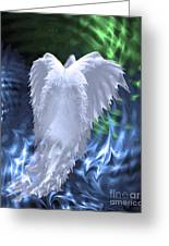 Moving Heaven And Earth Greeting Card by Cathy  Beharriell