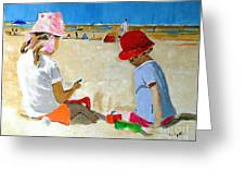 Mr. Sandman Greeting Card by Judy Kay