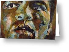 Muhammad Ali   Greeting Card by Paul Lovering