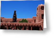Museum Of Indian Arts And Culture Santa Fe Greeting Card by Susanne Van Hulst