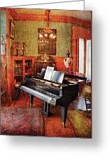 Music - Piano - It's A Long Long Way To Tipperary Greeting Card by Mike Savad