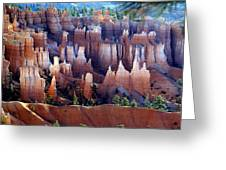 Muted Bryce Greeting Card by Marty Koch