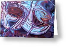 My Swanson Swirls Greeting Card by Penelope Moore