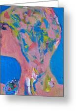 My Teacher--psychological Child Abuser Greeting Card by Judith Redman