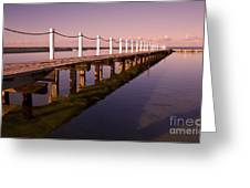 Narrabeen Sunrise Greeting Card by Avalon Fine Art Photography