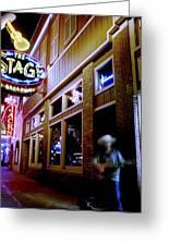 Nashville Street Musician Greeting Card by Todd Fox
