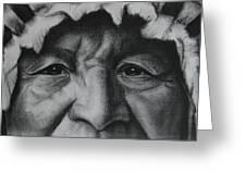 native Indian Greeting Card by Anastasis  Anastasi