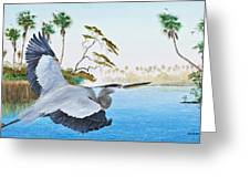 Nature Coast 2 Greeting Card by Kevin Brant