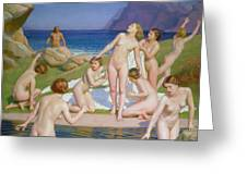 Nausicaa Greeting Card by William McGregor Paxton