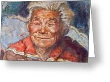 Navaho Wisdom Greeting Card by Ellen Dreibelbis
