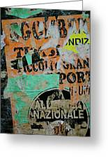 Nazionale Greeting Card by Jason Wolters
