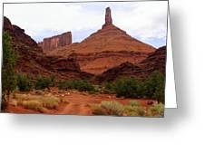 Near Moab 5 Greeting Card by Marty Koch