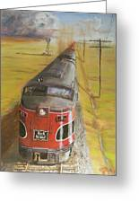 Near Thistle  Ks Greeting Card by Christopher Jenkins