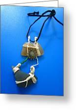 Necklace 2 Greeting Card by Lorna Diwata Fernandez