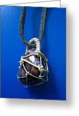 Necklace 4 Greeting Card by Lorna Diwata Fernandez