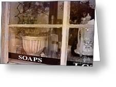 Need Soaps Greeting Card by Susanne Van Hulst