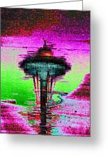 Needle In A Raindrop Stack Greeting Card by Tim Allen