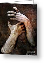 Never Let Go Greeting Card by Photodream Art