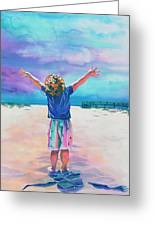 New Day Greeting Card by Maureen Dean
